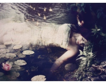 Sleep to Dream: Ophelia Inspired Print