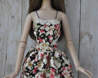 Handmade outfit-dress  for Tonner dolls 1:4 scale doll