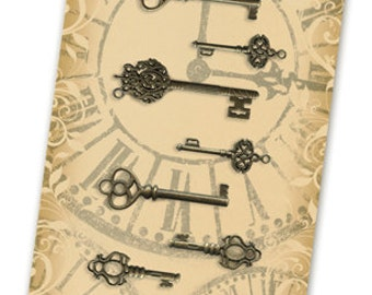 Graphic 45 Ornate Metal Keys