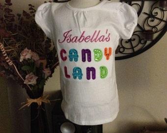 Custom Candyland shirt