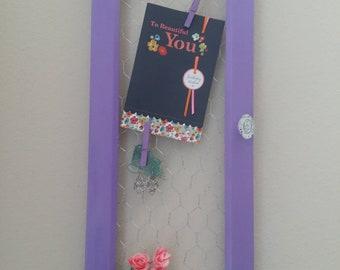Repurposed cabinet door
