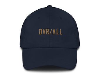 OVR / ALL Royal Blue Dad Cap