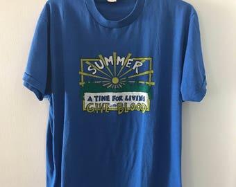Super soft Vintage Kentucky Give Blood T-Shirt