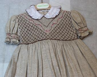 Smock Dress - Size: 24 Months