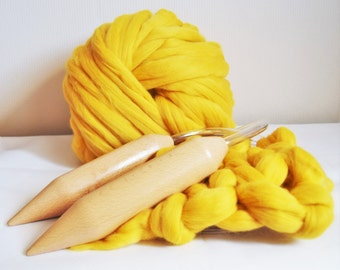 Giant Knitting Needles/Extreme knitting/Bespoke Circular Needles Sizes  40mm In Diameter, Gift for knitter.