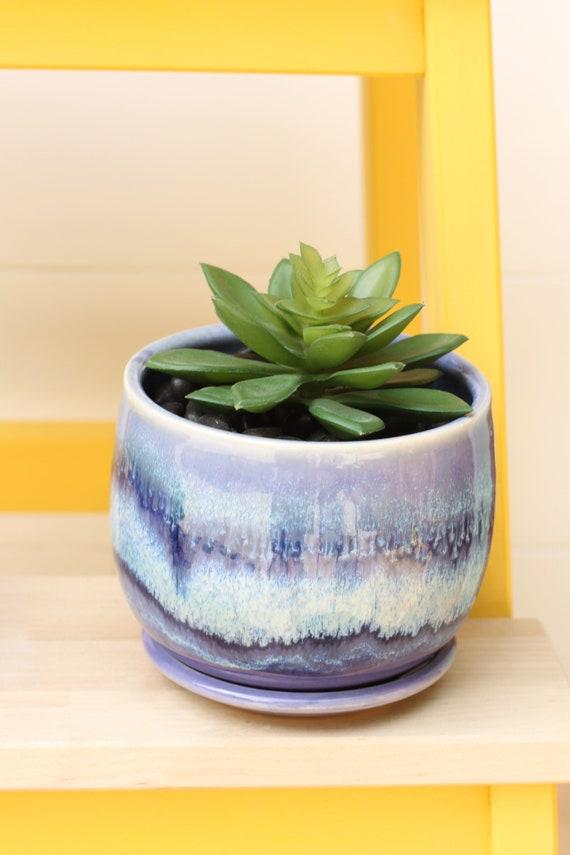 boho planter // cactus planter // succulent pot // ceramic pot // flower pot