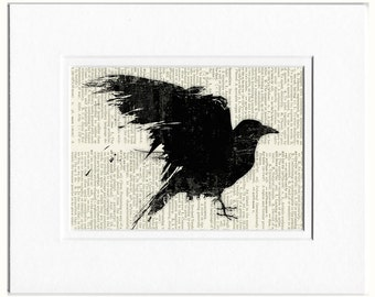 raven dictionary page print