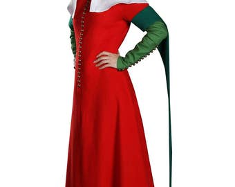 Medieval Dress - English dress - Renaissance Dress - Medieval Gown - Costume - Renaissance Clothing of the XIV-XV century - Larp SCA dress
