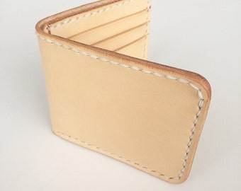 Leather Eight Pocket Bifold Wallet
