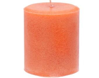 Nutmeg Cedar Scented Pillar Candle - Handmade - 14 ounces - 397 grams