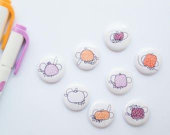 Sugar Patch - Little Pumpkins - Scandinavian - Mini Flair Set