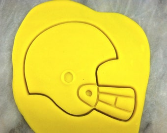 Football Helmet Cookie Cutter Detailed - SHARP EDGES - FAST Shipping - Choose Your Own Size!