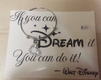 If you can dream it, you can do it kids bracelet