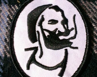 Vintage 1970's Zig Zag Guy Embroidered Patch 2 3/4''X2 1/4''