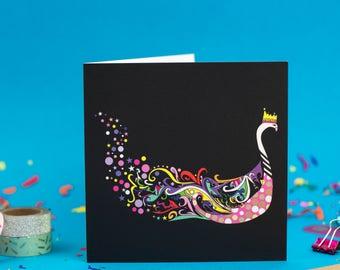 Swan Queenie - Art Print