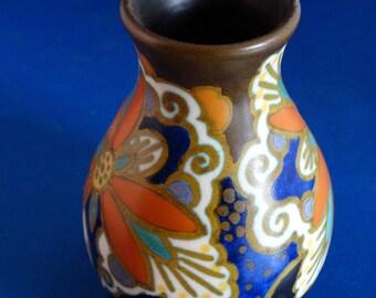 Vase, Ivora decor, Princess Gouda pottery