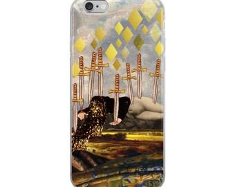 Ten of Swords iPhone Case