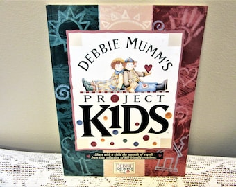 Quilting Book Projects For Kids by Debbie Mumm's Instructions Patterns blm