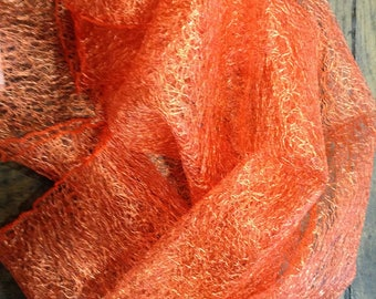 Orange soft tulle and air coupon