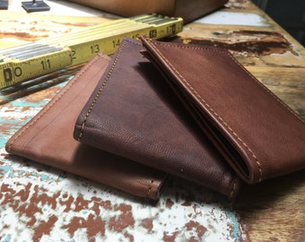 CLASSIC handmade leather bifold wallet
