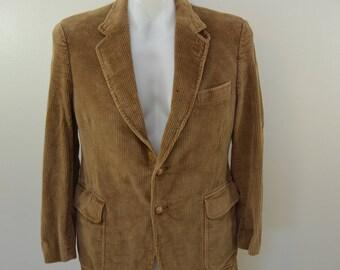 on sale Vintage James Neal BRILLS CORDUROY sport coat suit coat Elbow Patches