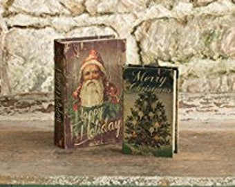 Christmas Scene Book Boxes