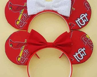 St. Louis Cardinals Mouse Ears