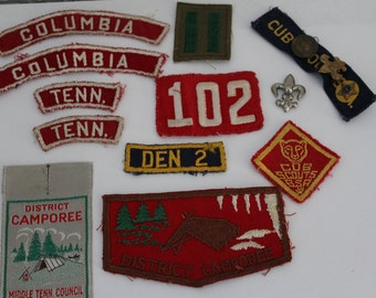 Vintage Boy Scout & Cub Scout Patches and Pins