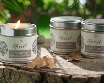 Rosemary Candles - Aromatherapy Candles - Scented candles - Natural Candles - Soy Candles - Essential oil