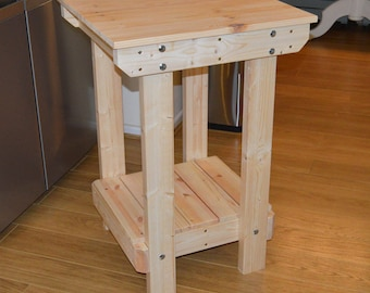 2FT Wooden Workbench  | Handmade | VERY STRONG & STURDY | Next Day Delivery | Top Quality!
