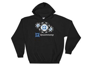Quantstamp Hooded Sweatshirt // Quantstamp Logo Hoodie // Security Protocol Sweatshirt // Smart Contract Sweatshirt // Blockchain Hoodie