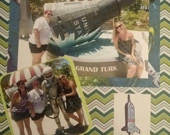 Customized Travel Scrapbook