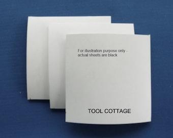 Silhouette Press Dies Rubber Sheets- Set of 3 Black
