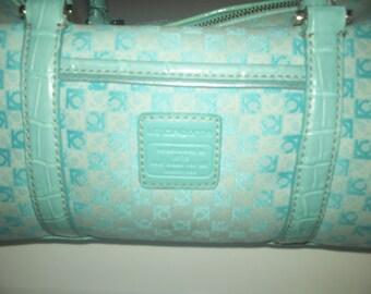 Vintage L C  tote bag  1980's