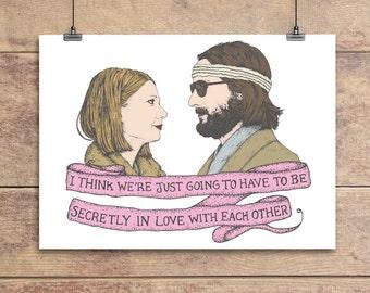 Margot and Richie - Royal Tenenbaums Greeting Card