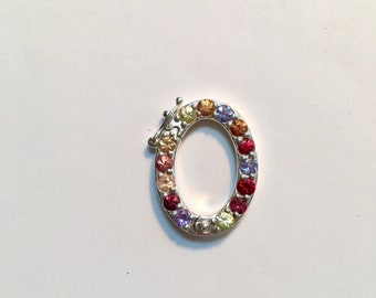 Oh! Ring with sapphires