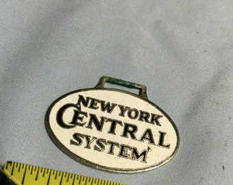 ON SALE  : New York Central Watch Fob