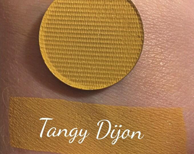 TANGY DIJON - Matte Pressed Eyeshadow- mustard yellow