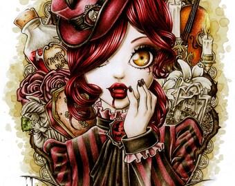 Zollie- Art Print 8x10