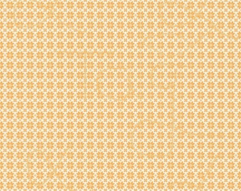 New Pricing and Packaging Orange Folk Pattern on White Cardstock Paper