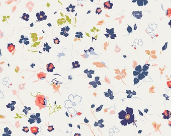 Joie de Clair fabric (SOLD in 1/2 YARD INCREMENTS) From Chic Flora by Art Gallery Fabrics Studio (Art Gallery Fabrics)