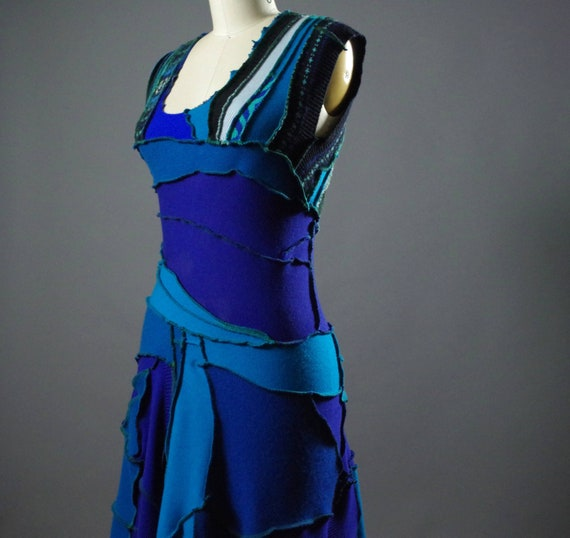 OOAK Cashmere Dress - Women's Sweater Dress - One of a kind Women's Dress - Spring Dress  - Designer Clothing