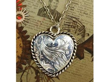Victorain antique silver pendant