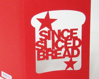 Papercut Valentines Day or Anniversary Card - Since Sliced Bread