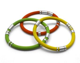 Sporty- three bracelets