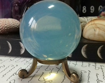 Opalite Crystal Sphere - Opalite Polished Crystal Ball- Crystal Sphere - Crystal Decor - Crystal Healing - Crystal Collection - OP5