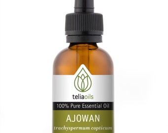 Ajowan Essential Oil, 100% Pure, Undiluted, Therapeutic Grade 30 ml / 1 fl Oz