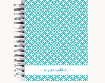 Address and/or Password Book – Personalized   Spiral   Business   Contacts   Gifts   Circles