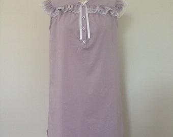 Heidi cotton nightdress with matching jacket