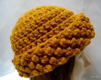 Women hats, Wool hat, Woman hat, Crochet adult hat, Mustard women hat, gift mom gift, mother's day gift, gift women